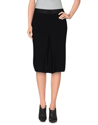 Roberto Collina Knee Length Skirts Black