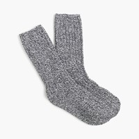 J.Crew Authentic Camp Socks Deep Blue Milk