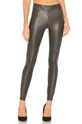 David Lerner The Bergen Legging Dark Green