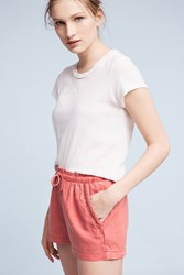 Anthropologie Ellis Shorts Rose