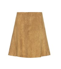 Stouls Swing Suede Skirt Green