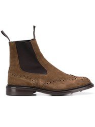 Tricker's Trickers Brogue Boots Brown