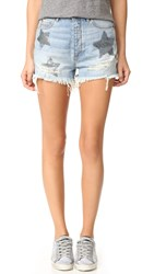 Sass And Bide City In My Mind Shorts Faded Indigo