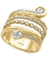 Effy D'oro By Diamond Wrap Ring 1 1 5 Ct. T.W. In 14K Gold Yellow Gold