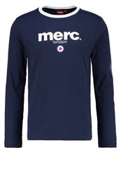 Merc Fight Long Sleeved Top Navy Dark Blue