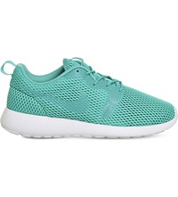 Nike Roshe One Hyperfuse Mesh And Textile Trainers Clear Jade Breathe