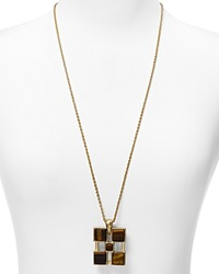 Dylan Gray Pendant Necklace 30 Gold