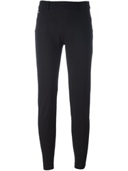 Blumarine Slim Fit Trousers Black