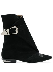 Toga Pulla Buckle Boots Black