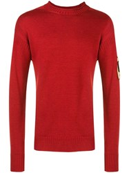 Kent And Curwen Basic Jumper Red