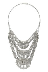 Forever 21 Teardrop Statement Necklace
