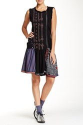 Desigual Ruffled Dress Black