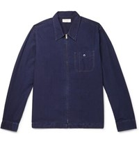 J.Crew Wallace And Barnes Cotton Ripstop Shirt Jacket Indigo