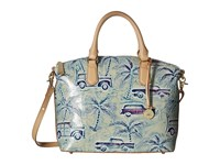 Brahmin Duxbury Satchel Sky Satchel Handbags Blue