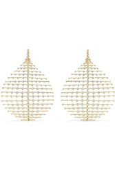 Fernando Jorge Disco 18 Karat Gold Diamond Earrings