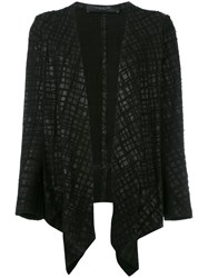 Federica Tosi Embroidered Blazer Black