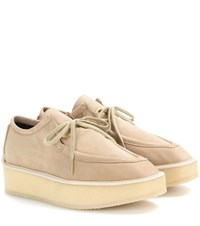 Stella Mccartney Brody Platform Loafers Beige