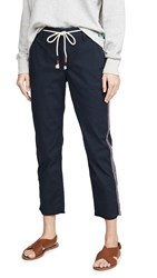 Sundry Straight Trousers Navy