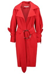 House Of Sunny Generation Trenchcoat Solange Red