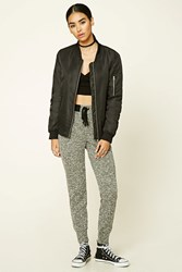 Forever 21 Marled Knit Sweatpants