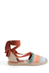 Missoni Women S Tie Up Diamond Espadrilles Boutique1 Multi
