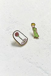Urban Outfitters Out Of Print The Little Prince Pin Set Green