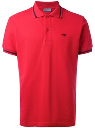 Christian Dior Homme Bee Embroidered Polo Shirt