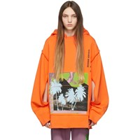 Ambush Orange 'Waves' Hoodie