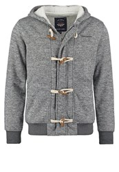 Teddy Smith Gice Cardigan Anthracite Chine Mottled Anthracite