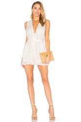 The Jetset Diaries Horizon Romper White