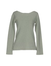Almeria Sweaters Light Green