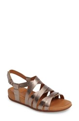 Fitflop Women's Lumy Gladiator Sandal Bronze Leather