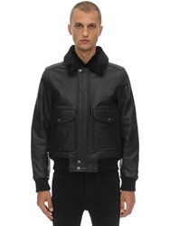 Schott Lc 5331 X Leather Jacket Antic Black