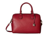 Michael Michael Kors Mercer Medium Duffel Cherry Duffel Bags Red
