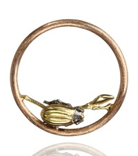 Annoushka Hoopla Beetle Pendant Female Gold