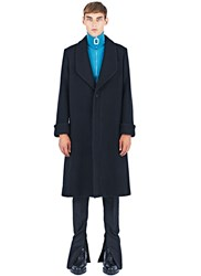 J.W.Anderson Oversized Shawl Coat Black