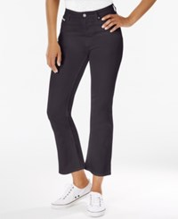 Calvin Klein Jeans Cropped Flare Black