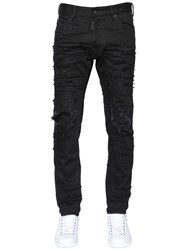 Dsquared 16.5Cm Cool Guy Distressed Denim Jeans