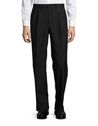 Lauren Ralph Lauren Wool Blend Knit Pants Black