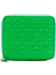 Comme Des Garcons Wallet 'Colour Embossed A' Wallet Green