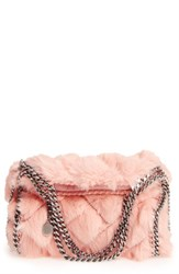 Stella Mccartney 'Mini Falabella' Quilted Faux Fur Tote