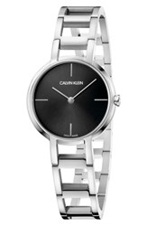 Calvin Klein Cheers Bracelet Watch 32Mm Silver Black Silver