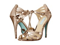 Blue By Betsey Johnson Tee Rose Gold High Heels