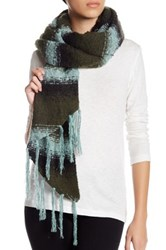 Collection Xiix Ombre Stripe Runway Wrap Green