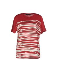 Guess By Marciano T Shirts Red