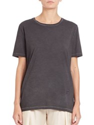 Acne Studios Faded Boyfriend Tee Black