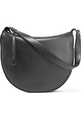 Victoria Beckham Swing Leather Shoulder Bag Black