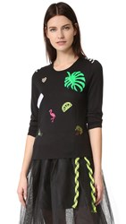 Marc Jacobs Scoop Crew Neck Sweater Black