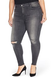Rebel Wilson X Angels Plus Size Women's The Icon High Rise Super Skinny Jeans Tower