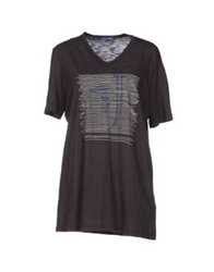 Trussardi Jeans T Shirts Steel Grey